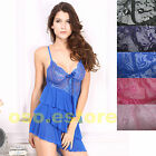 Sexy Three-Layer skirt Loveable Flower Babydoll (S8191)
