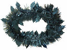 2.4M 8FT Holly Leaf Tinsel Garland 4 Col Available PM33
