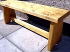 Chunky Rustic Bench, Kitchen / dining room, Traditional seating.-Style number 2-