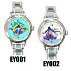 NEW* EEYORE Round Italian Charm Wristwatches
