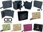SADDLER LEATHER PURSE WALLET BARREL HEART DETAILING WITH STUDS COMES GIFT BOXED