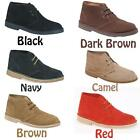Mens New Suede Desert Boots / Shoes Sizes Uk  4  - 15