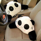 Panda/Bunny Car Waist Pillow Seat Back Cushion Lumbar Rest Support Travel Rabbit