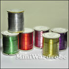 Floral Spool Wires Craft Jewelry 26 Gauge 25 yrd Silver Gold Green Red Purple