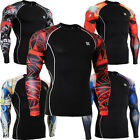 FIXGEAR C2l_s4_AUGT compression base layer sports under shirts running tops