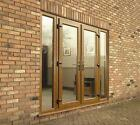 LIGHT OAK UPVC FRENCH DOORS   **NEW**   MADE TO MEASURE