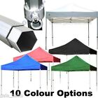 PRO - 50 POP UP COMMERCIAL GRADE GAZEBOS - ALUMINIUM INSTANT HEAVY DUTY FRAME