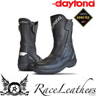 DAYTONA ROADSTAR GTX WIDE FIT LEATHER GORETEX GORE TEX MOTORCYCLE TOURING BOOTS