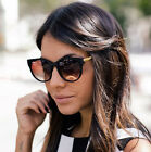 Cat Eye Sunglasses Oversized Retro Eyewear Vintage Womens Fashion