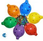 Ocarina - Plastic Four Hole in Various Colours