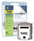 Remanufactured 940XL Black Ink Cartridges for HP Officejet Printers