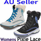MERRELL PIXIE LACE WATERPROOF WOMENS WINTER BOOTS SHOES