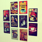 Wall Art Metal Decor Picture Painting for Bar ''Coffee '' Metal sign DT257