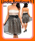 B53 New Womens Formal Wedding Cocktail Evening Party Dress Plus Size 14 16 18