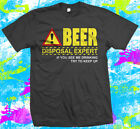 Funny Beer drinking T shirt – great gift for anyone who likes a drink.