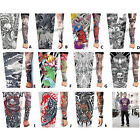 1 x Tattoo Sleeve Arm Stocking Skull Art Fancy Dress Stretchy Costume Party Lady
