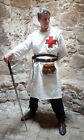 Medieval/LARP/SCA/Re enactment/St George Knights TEMPLAR SURCOAT/ with red Cross