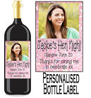 PERSONALISED BOTTLE LABEL WEDDING DAY GIFT FAVOURS WINE, SPIRIT OR CHAMP WDBL 6