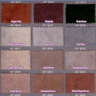 FAUX SUEDE LEATHER SPANDEX STRETCH UPHOLSTERY FABRIC SUEDETTE DESIGNER 28 COLORS