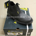 Delta Plus Capps LH829 BLACK Mens Safety Work Dealer Boots Shoes Steel Toe Cap
