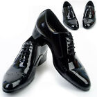 New Designer Mens Leather Italian Style Oxfords Dress Formal Shoes Black Nova