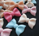 Flatback Resin Cute Bow DIY Mobile Phone i phone Shell Deco Den Kit U pick B250