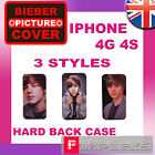 JUSTIN BIEBER STYLISH HARD BACK CASE IPHONE 4 4G 4S POUCH HOLDER PHONE COVER