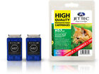 2 Remanufactured Jettec HP57 Colour Printer Ink Cartridges for 7960GP & more