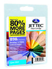 Compatible Jettec LC980 / LC1100 Cyan Ink Cartridge for Brother Printers