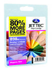 Compatible Jettec LC980 / LC1100 Magenta Ink Cartridge for Brother Printers