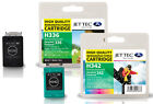 2 Remanufactured Jettec HP336/HP342 Ink Cartridges for PSC 1513S & more