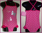 GIRLS TOGS Sz 2 3 4 or 6 - Adorable 1 pc SWIMWEAR BATHERS - Pink Butterfly NEW