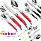 16 PCs Swiss Kitchen Cutlery Set Red Black Cream