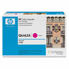Genuine HP Q6463A Magenta Laser Toner Cartridge for Printers