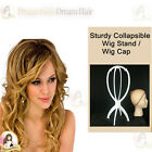 New Sturdy Collapsible Wig Stand / Wig Cap