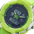 C8 US NEW Mens Boys Multi-Function Wrist Watch Jelly Fashion LCD Sport Colorful