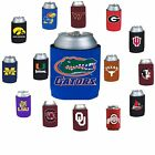 NCAA College Can Kaddy Koozie Drink Holder- Pick Team