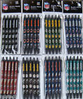 NFL Team Click Pens - 5 pack -  Black Ink Official Licensed