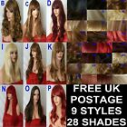 Wig Natural Long Curly Straight Wavy Synthetic Wig Women Hair Fashion natural uk