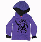 Stardust Kids Cotton Hoody 'Jimi Hendrix Lion' (Various Colours) Boys & Girls