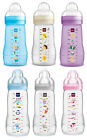 6 x MAM Easy Active Baby Bottle Flaschen Set 270 & 330 ml mit Seidensauger *NEU*