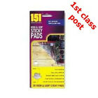 Hook & Loop Sticky Pads - Ideal hold down Carpet  Rug