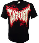 New Tapout Cage Blood Splatter UFC MMA Cage fighter Mens t shirt Shirt Black