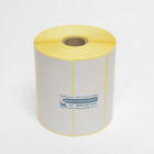 100mm x 50mm WHITE Direct Thermal Labels 1,000 per roll for Zebra type printer