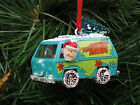 Hot Wheels Custom Scooby Doo The Mystery Machine Diecast Christmas Ornaments