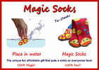 Magic Socks - One Size Fits All - Expand in Water Fun Stocking Filler