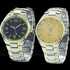Exclusive Gift Luxury Dial Mens Stainless Steel Quartz Watch Wristwatch Watches