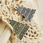 Retro Vintage Punk Rock Gothic Magic Love Triangle Pyramid Adjustable Ring