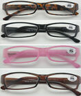 (L34)Plastic Frame Reading Glasses from £1.99 a Pair + 3.50+350+4.00+400