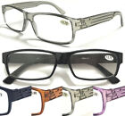 L1 Memory Plastic TR90 Reading glasses/Unisex/Simple/Super Classic Style Designs